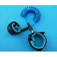 China Hot Selling Transparent Blue Baby Safety  Retractable Anti-lost Walking Belt wholesale