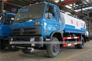 China Dongfeng 145 10CBM Water Bowser Truck For Road Flushing wholesale