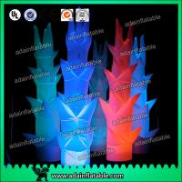 China 3m Led Inflatable Pillar Lights For Party / Wedding Decoration wholesale