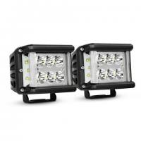 Buy cheap Work Light CREE LED Off Road Driving Light 2 X 45W Side Shot Pod Cubes For Vehicle from wholesalers