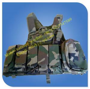 China multi pocket military tactical vest bulletproof vest safety vest security vest on sale