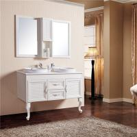 China Moisture Proof Bathroom Sinks And Vanities / Double Sink Vanity Corrosion Resistance wholesale