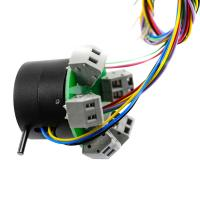 Quality 12 Wires High Current Performance through hole slip ring For Machinery Parts for sale
