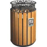 China KQ60280K 32 Gallon 13 Gallon Trash Can Stainless Steel For Public , CE Certification on sale