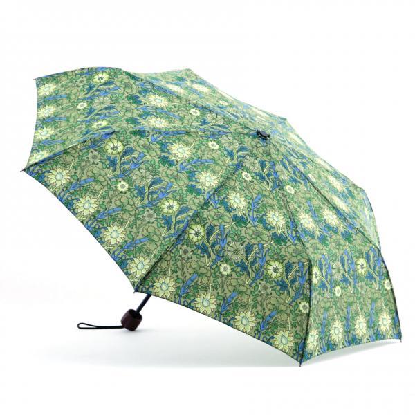 Quality Printed Flat Mini Manual Open Umbrella , Easy Open Close UmbrellaPlastic Handle for sale
