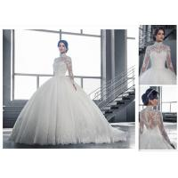 China Lovely Design Free Shipping High Quality Elgent Sweetheart Ball Gown Style Cheap Bridal Wedding Dress wholesale