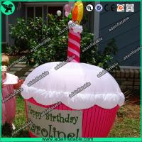China Advertising Inflatable Cup Cake Replica/Promotional Cup Cake Model wholesale