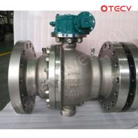 China Full Port Floating Ball Valve, ASTM A182 F51, PN50, DN250, RF TECV wholesale