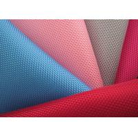 China 1680d PVC Coated Polyester Mesh Fabric , Plastic Coated Fabric wholesale