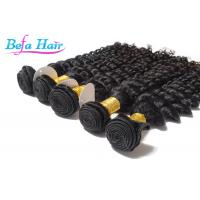 China Grade 7A 26 inch / 28 Inch Eurasian Virgin Hair weave Deep Wave wholesale