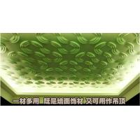 Quality Embossed Home Wall Decor 3D Wall Background / Decorative Wall Paneling for KTV or Club for sale