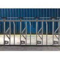 China Self Crossing Cattle Feed Barrier Gates , Heavy Duty Fence Line Feeder Panels on sale
