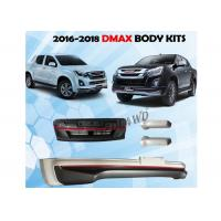 China Isuzu D'max Ute 2016 - 2018 Front Bumper Guard / Auto Body Kits wholesale