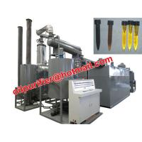 China Car Motor Oil Vacuum Distillation Machine With Black Waste Engine Oil Recycle System on sale