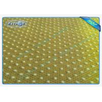China Good Strength Anti Slip PP Spunbonded Non Woven Fabric with PVC Dots wholesale