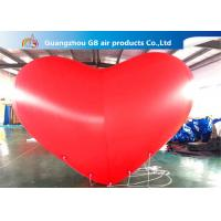 China Giant Inflatable Holiday Decorations Hanging Heart Helium Balloons wholesale