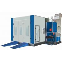 China Industrial Stoving Varnish Autobody Spray Booth 0.25m/s Spray Bake Oven wholesale