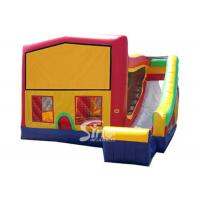 China PVC Tarpaulin Inflatable Bounce Houses With Slide Multifunctional wholesale