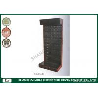 China Peg board hooks hanging tool storage rack steel metal display stand for Retail store on sale
