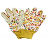 China Yellow Twill Working Hands Gloves Breathable Protecting Against Abrasion wholesale