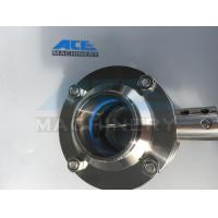 China Stainless Steel Three-Way Thread Butterfly Valve (ACE-DF-2C) wholesale