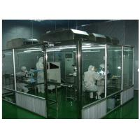 China ISO Semiconductor Air Shower Clean Room Class 100 - 10000 With Fan Filter Unit on sale