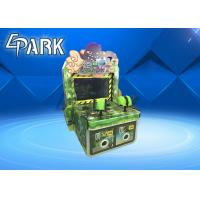 China The Monster Comes Gun Shooting Push Coin Game Machine / Video Game Vending Machine wholesale