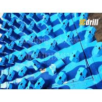 China Tapered 7 Degree Chisel Drill Bit 20-60mm Diameter Tungsten Carbide Material wholesale
