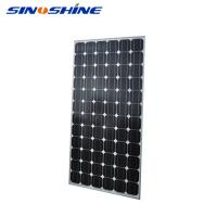 China High efficiency 60 cells black friday solar panel with Anodized aluminium alloy frame wholesale