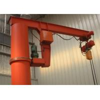 China 1-10 Ton Column Mounted Jib Crane With Electric Hoist Remote Controller wholesale