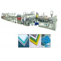 China PP PC Hollow Plate Plastic Extrusion Machine Single Screw Extruder 200-300kg/H wholesale