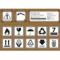 China Non Toxic Logistic Labels , Waterproof Design Shipping Address Label wholesale