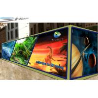 China Mobile 6D Movie Theater Simulator With Audio /Broadcast System And Polarized Glasses wholesale