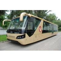 China Comfortable Diesel Engine 13 Seater Airport Apron Bus With Aluminum Apron wholesale