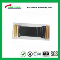 China Sillkscreen Flexible PCB Fabrication , Mobile Phone PCB Board Black Solder Mask wholesale
