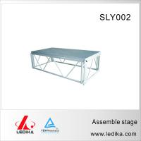 China Aluminum adjustable stage platform/outdoor concert stage sale/SLY002 Portable stage/aluminium stage wholesale