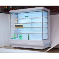 China Fruit Vegetable Open Display Refrigerator With Air Curtain For Supermarket wholesale