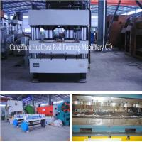 China Stone Coated Metal Rood Tile Roll Forming Production Line High Capacity wholesale