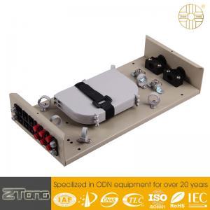 China Min. 8 Cores Fiber Optic Termination Cabinet , Fiber Termination Unit UV Proof wholesale