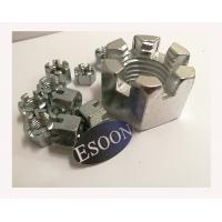 China HEX Slotted Nut DIN935,Carbon Steel,M30,Min.1000Pcs,Zinc Surface on sale