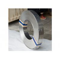 China Wide 0cr25al5 FeCrAl Alloy Ribbon Heating Strip For Heat Elements Bright Color wholesale