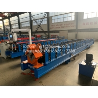 China Canoa Pilon Water 8kw Gutter Roll Forming Machine 480v wholesale