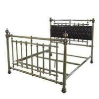China Black Bed Single Bed wholesale