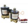 China DN8 2/2 Way 2W025-08 Pneumatic Water Solenoid Valve Brass Body NBR Diaphragm wholesale