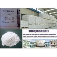 China CAS No. 1345-05-7 White Lithopone Powder B311 ZnSBaso4 For Decorative Coatings wholesale