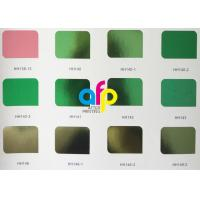 China 640mm * 120m Colorful Stamping Foils ,Gold Stamping FoilFor Soft / Hard Plastic wholesale