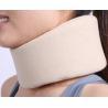 China adjustable comfortable soft foam cervical collar cutting sponge neck collar wholesale