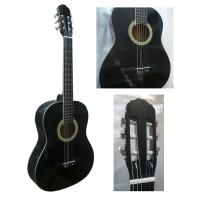 White ABS Binding Wood Classical Guitar Basswood Junior For Beginners CG3910AW