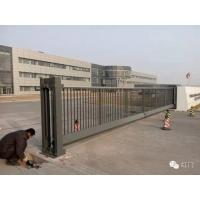 Quality Industrial Motorized Automatic Cantilever Sliding Gates With Photocells for sale