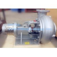 BETTER Mission Sandmaster and MCM Mud Master style Centrifugal Pumps with Short Frame Hydraulic Motor Driven